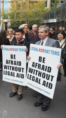James-Dowsley-at-Melbourne-Legal-Aid-Rally